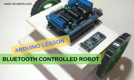 Arduino Based Bluetooth Controlled Robot