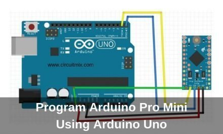 Program Arduino Pro Mini Using Arduino Uno