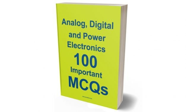 Download Analog, Digital and Power Electronics 100 Important MCQs