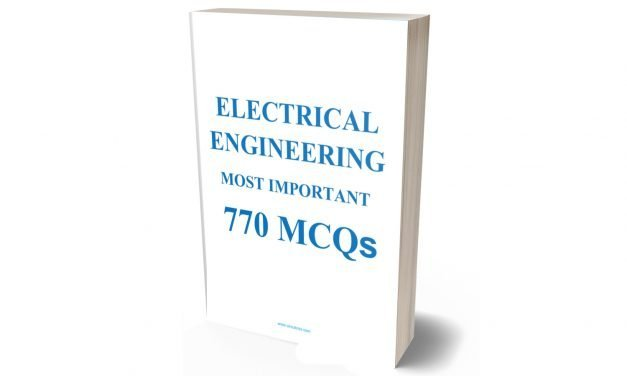 Download Electrical Engineering Most Important 770 MCQ